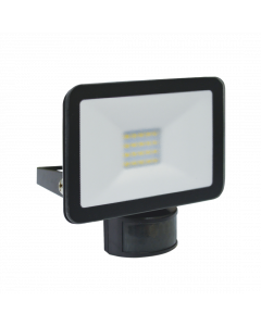 Design LED Außenleuchte mit Bewegungsmelder 10W – Schwarz (LF5010P)