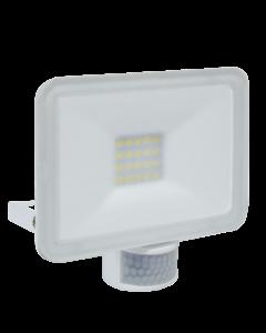 Design LED Außenleuchte mit Bewegungsmelder 20W - Weiß (LF5020P)
