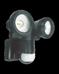 2-Kops LED Buitenlamp met Bewegingsmelder - 2 x 5 Watt (LT3505P)