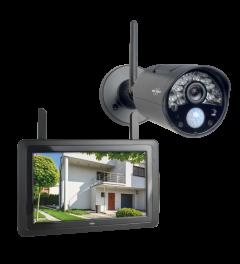 """Wireless Überwachungskamera Set mit 7"""" Bildschirm  und App (CZ30RIPS)"""