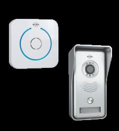 IP Video Türklingel über APP mit kabelloser Funktüklingel (DVC040IP)