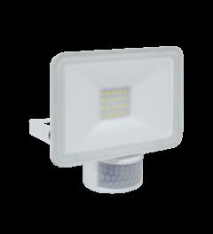 Design LED Außenleuchte mit Bewegungsmelder 10W – Weiß (LF5010P)