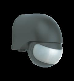 Bewegungsmelder – außen verwendbar - 200° - Schwarz (LP1520)