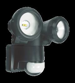 2-köpfige LED-Außenleuchte mit Bewegungsmelder 2x5W (LT3505P)