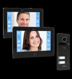 ELRO PRO PV40 Full HD Video Deur Intercom Systeem  - 2 Appartementen (PV40)