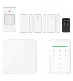 ELRO AS90S Home+ Intelligentes drahtloses Alarmsystem – WLAN – Handy-Funktion – Testsieger (AS90S)